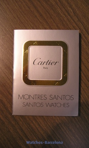 CARTIER Manual Instrucciones